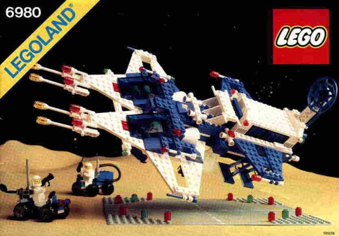 lego spaceship galaxy commander 1983